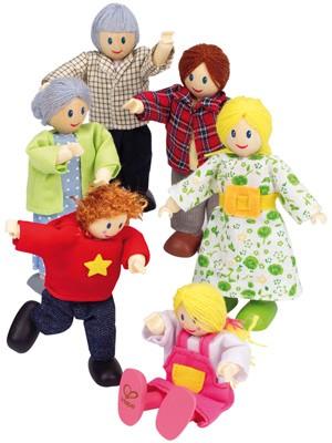 Puppenhaus Moderne Familie (Hellhäutig)