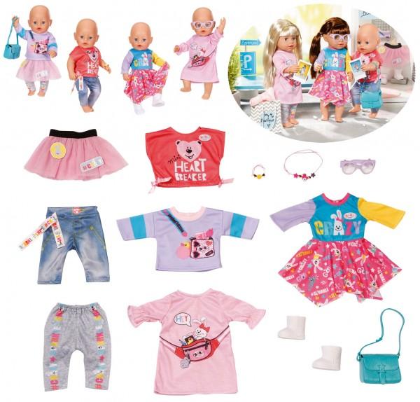 Baby Born City Fashion Set großes Kleidungsset 43 cm