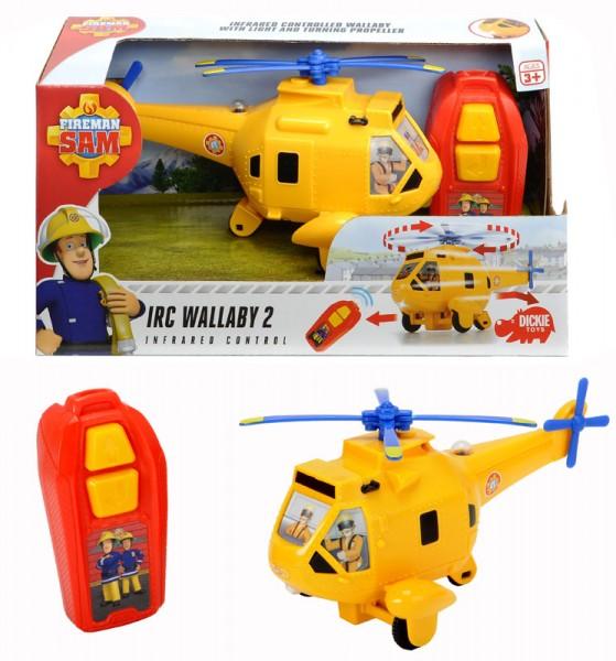 Feuerwehrmann Sam Wallaby 2 mit Infrarotfernsteuerung