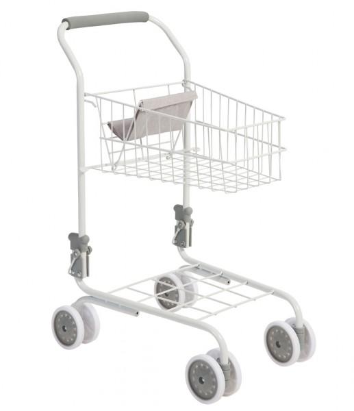 Supermarkt Einkaufswagen für Kinder (Weiß-Grau)