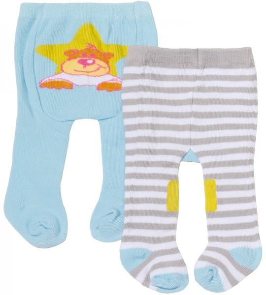 Baby Born Strumpfhosen-Set 43 cm (Blau-Grau)