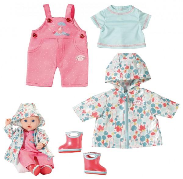 Baby Annabell Deluxe Regen Set Gr. 39 - 46 cm (Mint-Rosa)