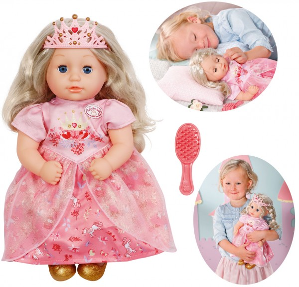 Baby Annabell Little Sweet Princess Puppe 36 cm (Rosa)