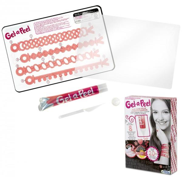 Gel-a-Peel Starter Gel-Set (Pfirsich)