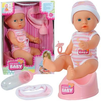 New Born Baby Kleine Puppe mit Funktionen 30 cm (Sortiert)