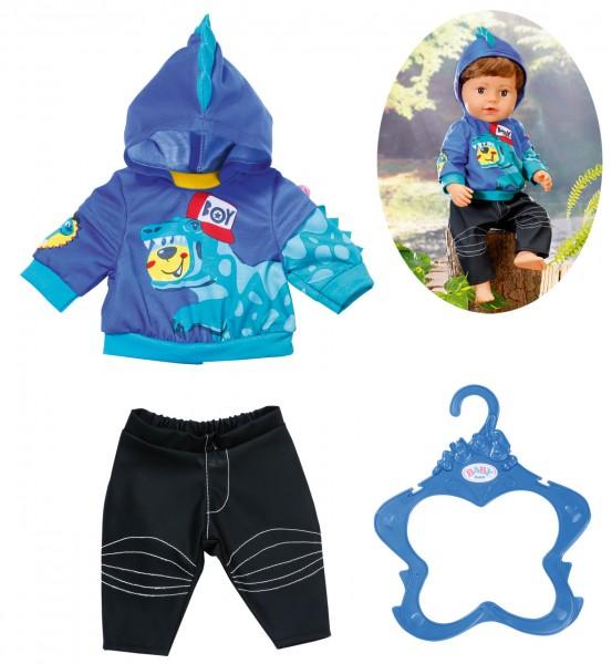 Baby Born Boy Outfit 43 cm (Blau-Schwarz)
