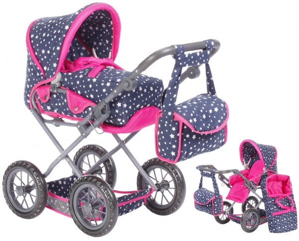 Puppenwagen Ruby (Star Blue)