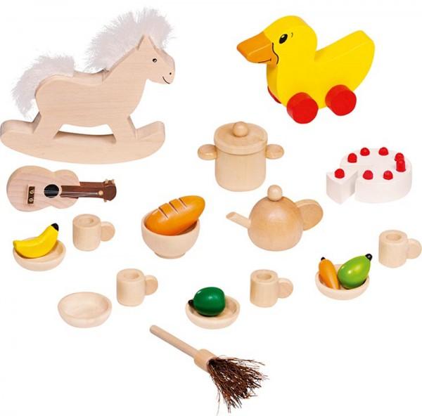 23-teilige Puppenhaus-Accessoires Puppenhaus