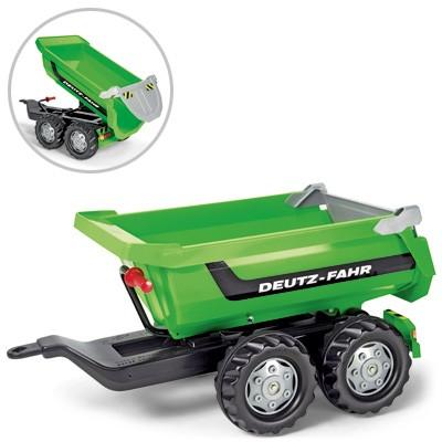 RollyTrailer Deutz-Fahr Anhänger Halfpipe (Grün)