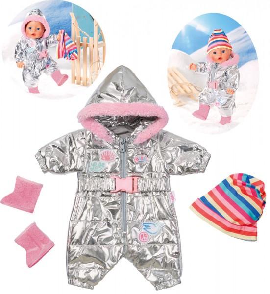 Baby Born Trend Schneeanzug 43 cm (Silber)