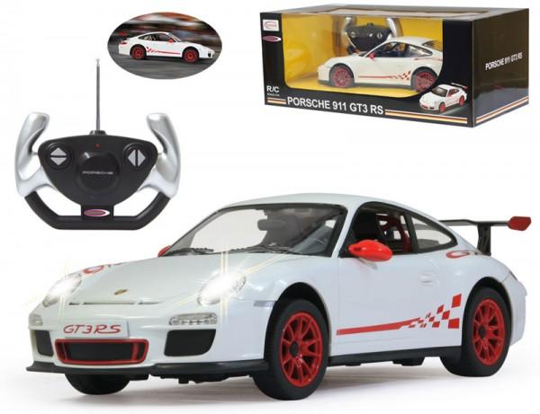 RC Porsche GT3 RS 1:14 27 MHz (Weiß)