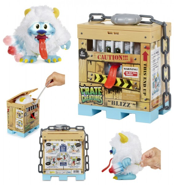 Crate Creatures Surprise Monster Blizz (Weiß)