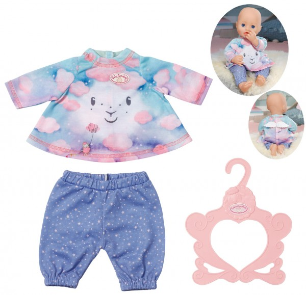 Baby Annabell Sweet Dreams Nachthemd mit Hose 43 cm