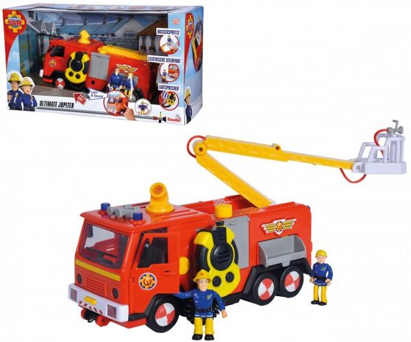 Feuerwehrmann Sam Ultimate Jupiter 2.0 mit Licht & Sound und 2 Figuren