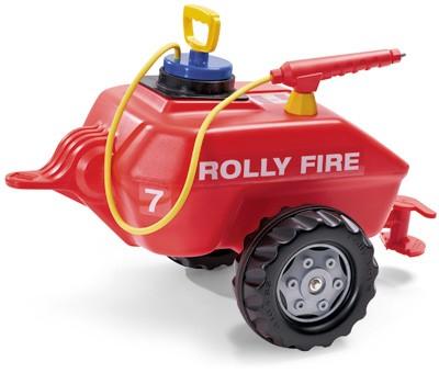 RollyTrailer Anhänger RollyFire Wassertanker mit Spritze (Rot)