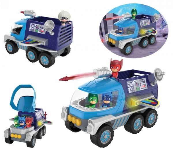 PJ Masks Mond Rover Mondfahrzeug mit Catboy Spielfigur