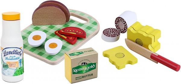 Brotzeit Spiellebensmittel aus Holz