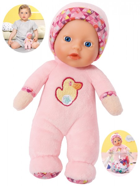 Baby Born First Love Puppe 18 cm (Rosa)