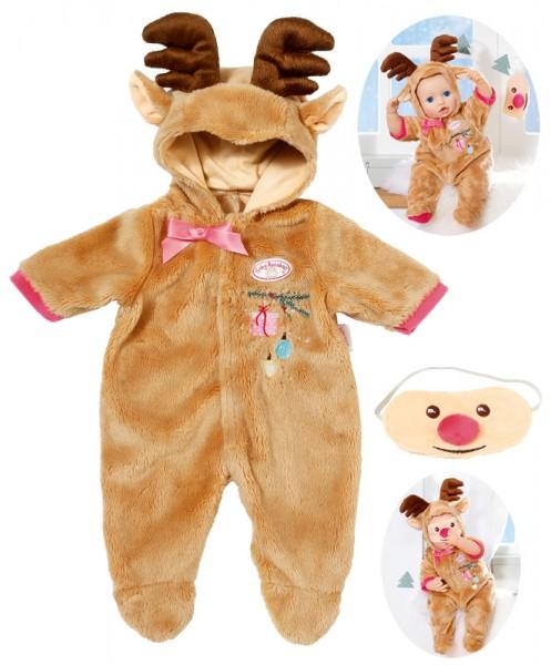 Baby Annabell Deluxe Set Rentier Gr. 43 - 46 cm (Braun)