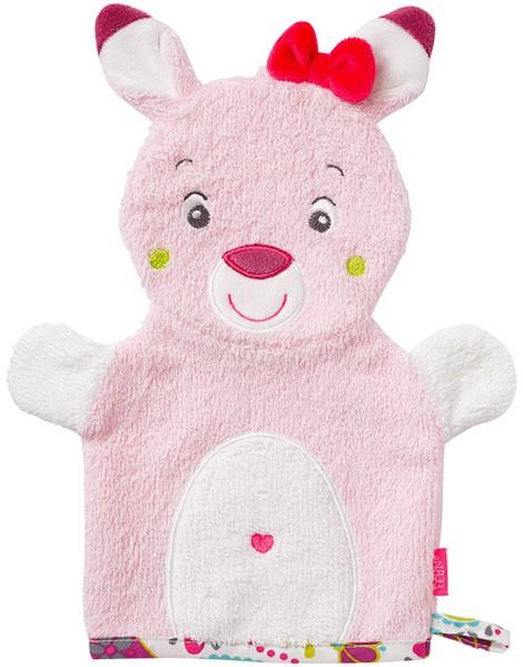 Sweetheart Waschhandschuh Rehkitz (Rosa)