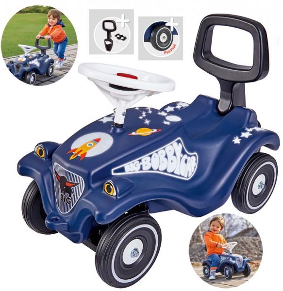 Bobby Car Classic Moonwalker mit Rückenlehne (Blau)
