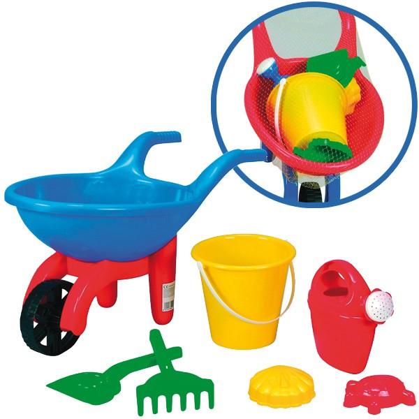 Schubkarre mit Sandspielzeug (Sortiert)