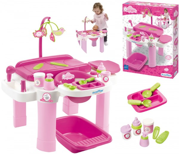 Mein erstes Puppenpflegecenter (Pink)