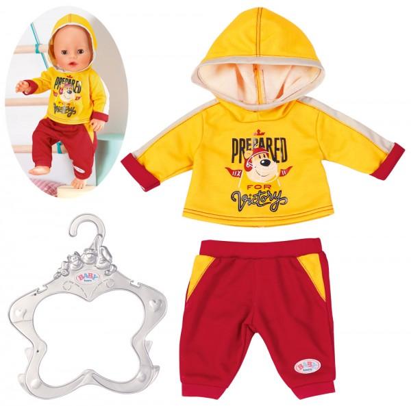 Baby Born Freizeitanzug 43 cm (Gelb-Rot)