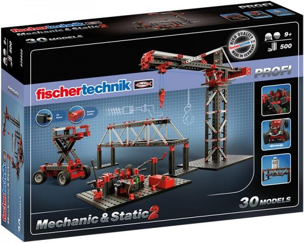 Fischertechnik Profi Mechanic & Static 2