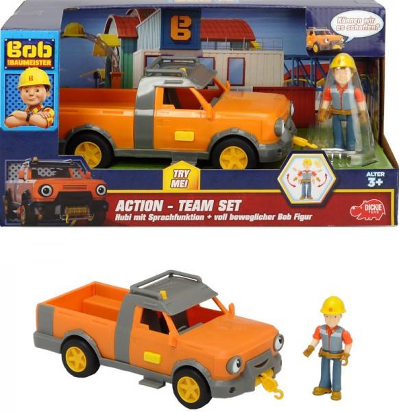 Bob der Baumeister Action-Team Set Hubi und Bob