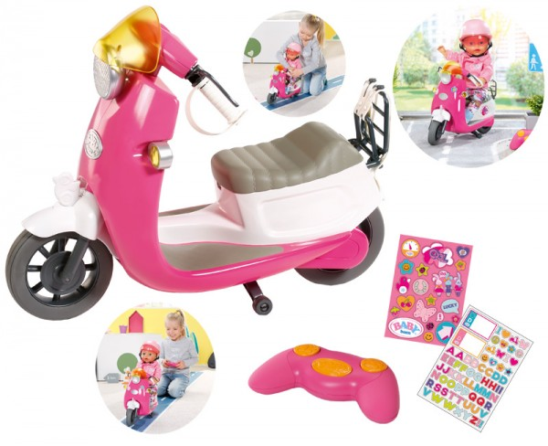 Baby Born City RC Scooter (Pink)