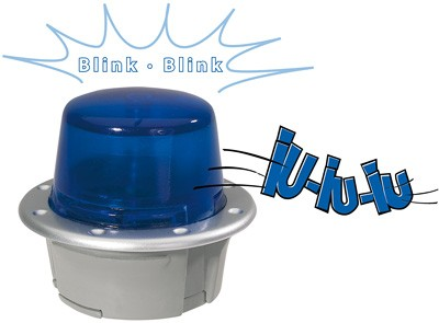 Bobby Car SOS Blaulicht