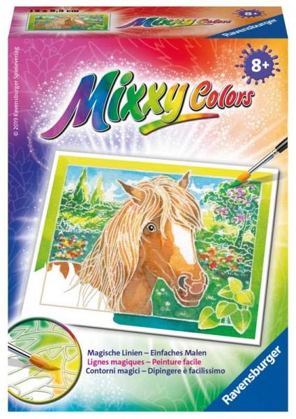 Malen nach Zahlen Mixxy Colors Pferd