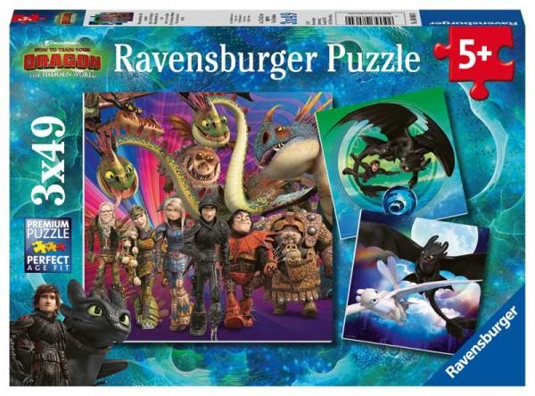 Kinderpuzzle Dragon Drachenzähmen leicht gemacht ab 5 Jahren