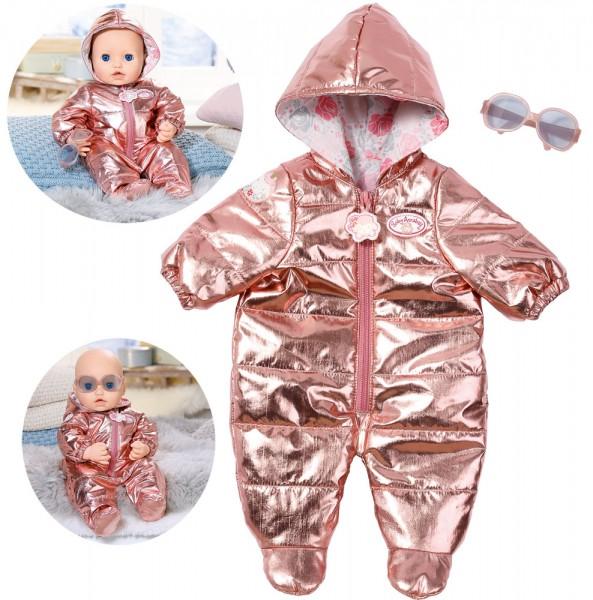 Baby Annabell Deluxe Set Schneeanzug 43 cm (Metallic-Look)