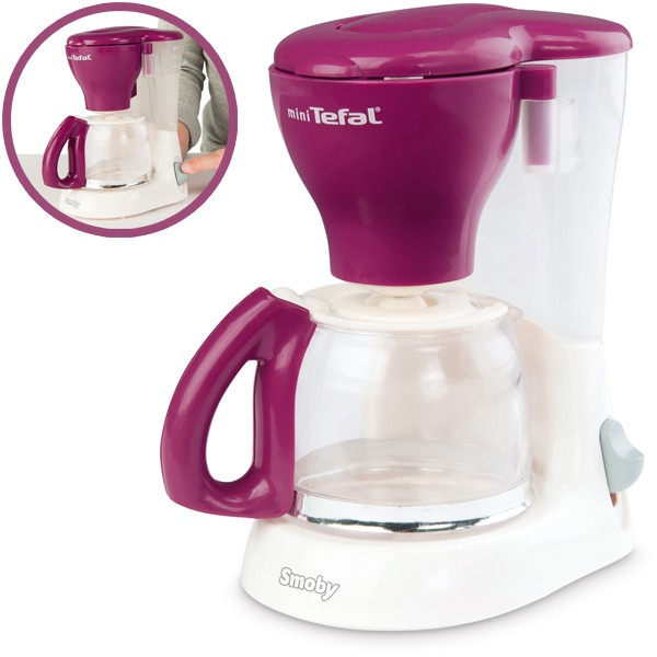 Mini Tefal Kaffeemaschine (Brombeere)