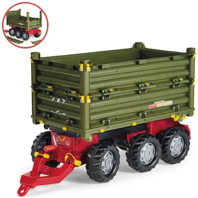 RollyTrailer Anhänger Multi 3-achsig (Grün)