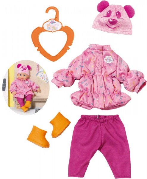 My Little Baby Born Winter Outfit Gr. 32 cm (Pink)