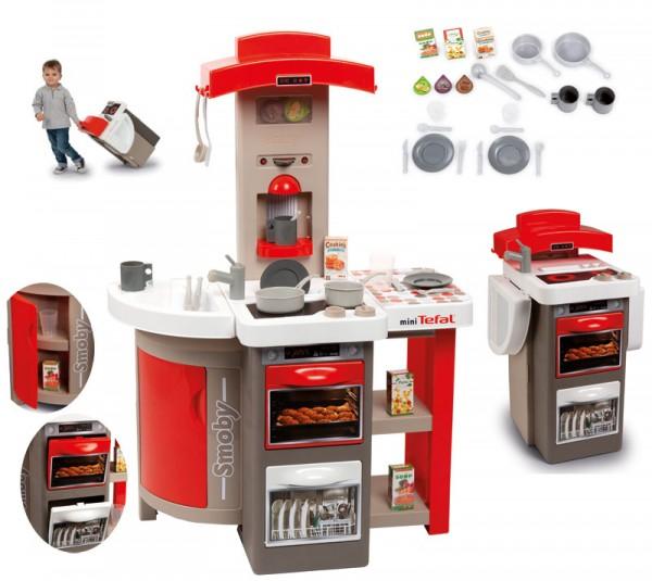 Mini Tefal Opencook Küche mit Zubehör Faltbar (Rot)