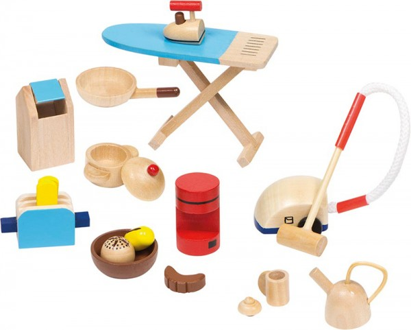 11-teilige Puppenhaus-Accessoires Küche