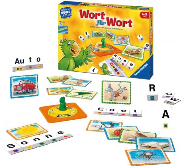 Kinderspiel Wort für Wort