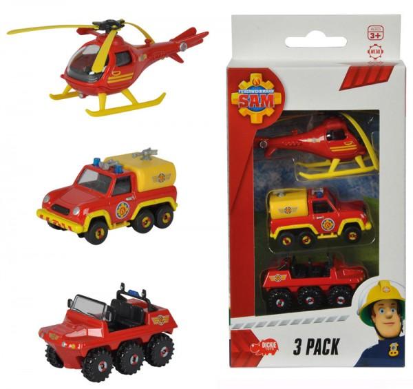 Feuerwehrmann Sam 3er Pack Wallaby, Hydrus und Venus
