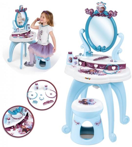 Disney Frozen 2 Frisier- und Schminktisch Die Eiskönigin 2in1 (Brombeere-Hellblau)