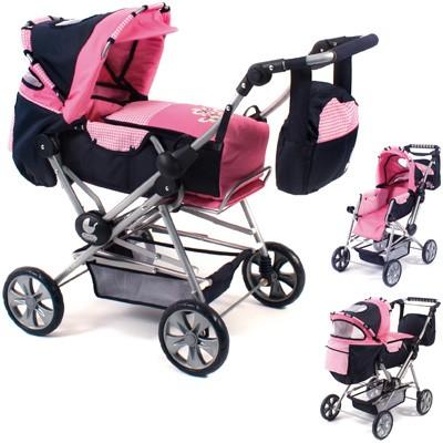 Puppenwagen Road Star (Pink Checker)