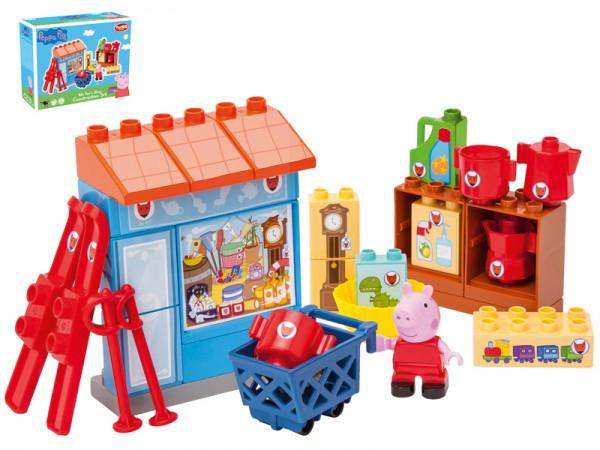 PlayBIG Bloxx Peppa Pig Mr Fox's Shop