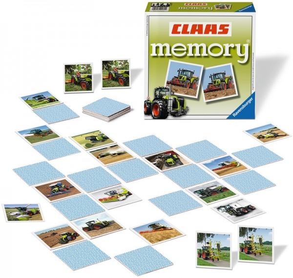 Claas Memory mit Traktoren und Nutzfahrzeuge
