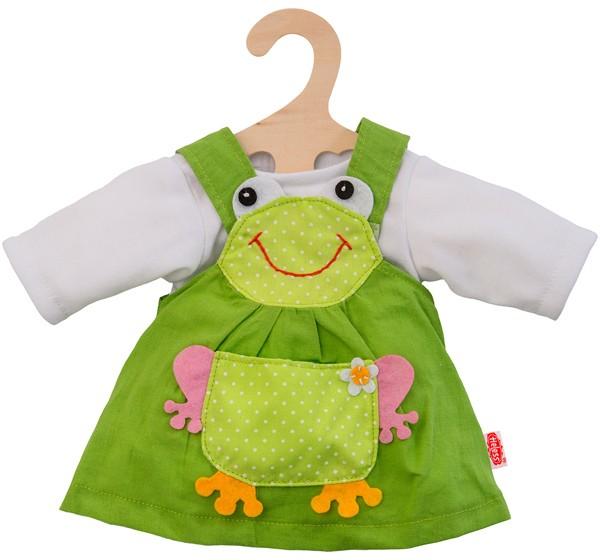 Kleidungsset Froschkleid mit Shirt 35-45 cm