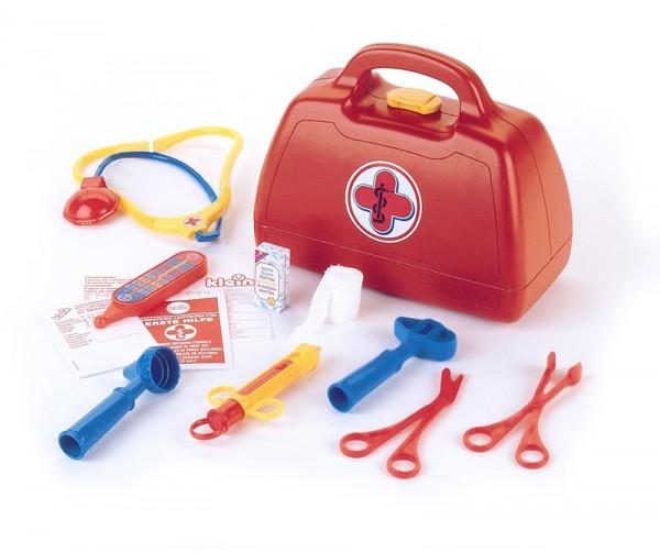Arztkoffer mit Zubehör (Rot)