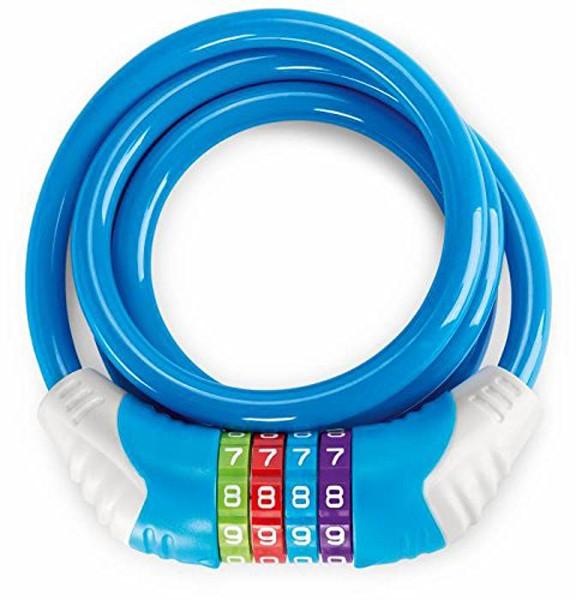 Kinder-Fahrradschloss KS 12 (Blau)