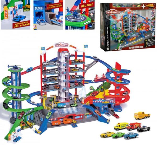 Super City Garage auf 7 Ebenen mit Licht und Sound
